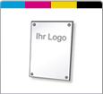 Firmenschild Acrylglas