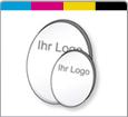 Firmenschild Oval